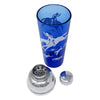 Vintage Hazel Atlas Cobalt Blue Hunt Cocktail Shaker Parts | The Hour Shop