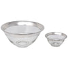 Vintage Dorothy Thorpe Sterling Band Bowls Top View | The Hour Shop