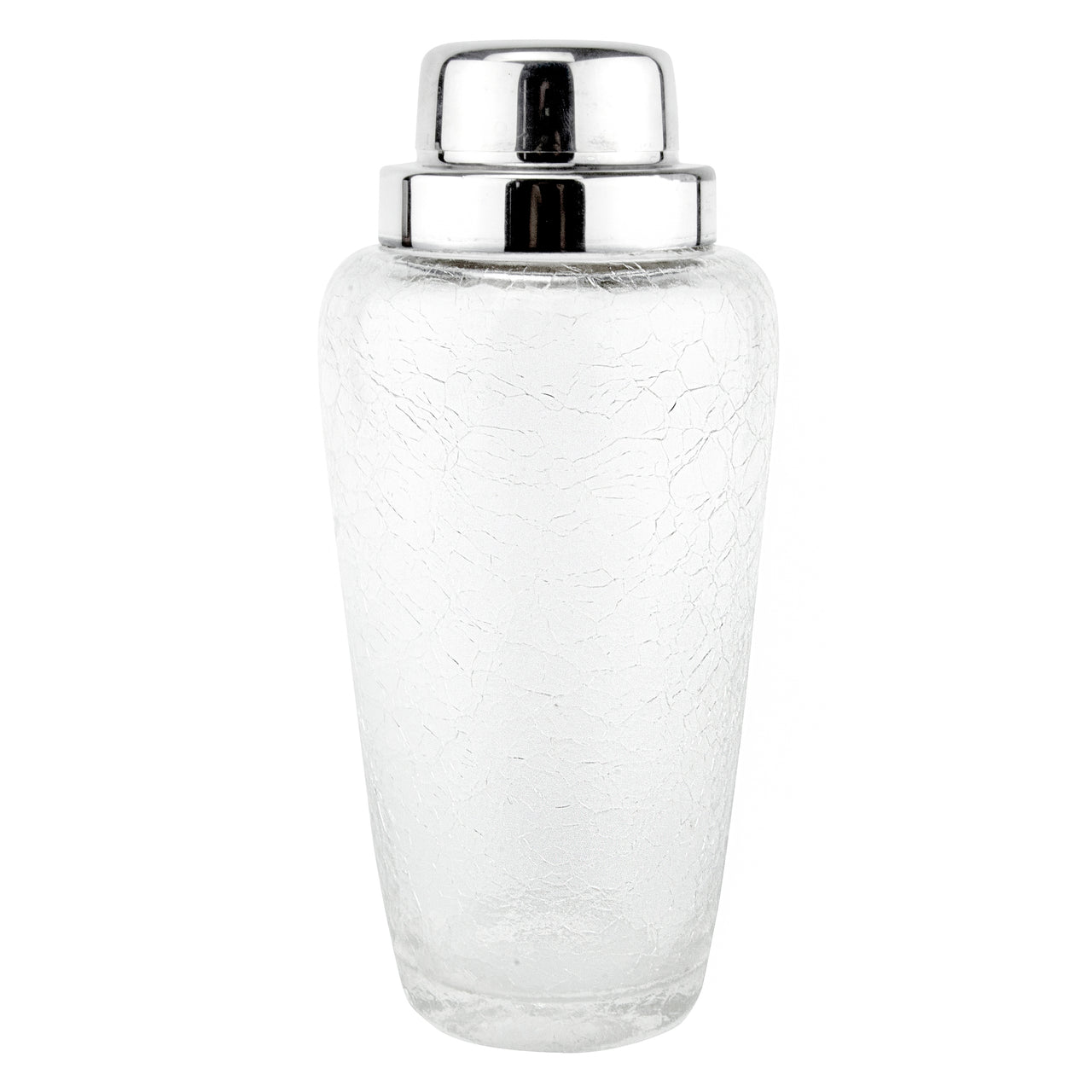 Kristall Crackle Glass Cocktail Shaker