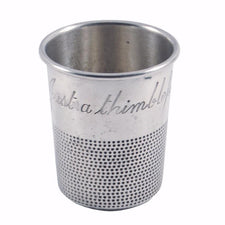 The Hour Shop, Towle Sterling Thimble Jigger