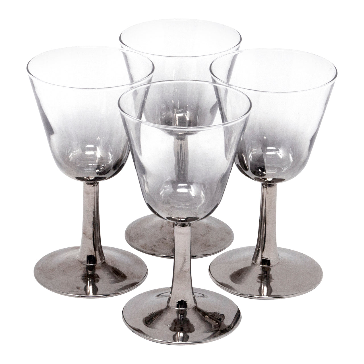 Vintage Mercury Stem Cocktail Glasses | The Hour Shop