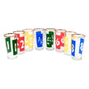 Vintage Numbers 1-8 Ice Bucket Set Collins Glasses | The Hour Shop