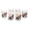 Frosted Fall Foliage Shot Glasses