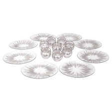 Vintage Dorothy Thorpe Sterling Atomic Splash Serving Set | The Hour Shop