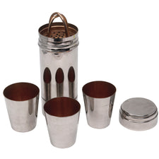 Vintage German Nested Cocktail Shaker Set | The Hour Shop