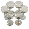 Holmegaard Smoke Glass Cocktail Coupes