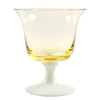 Vintage Johansfors Yellow Cocktail Glass | The Hour
