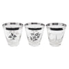 Vintage Georges Briard Sterling Rocks Glasses Pattern | The Hour Shop