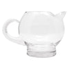 Vintage Eva Zeisel Etched Lines Cocktail Pitcher Set Pitcher Right | The Hour Shop