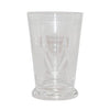 Vintage Etched Drum Footed Cocktail Glass, The Hour Sho