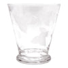 Vintage Frosted Leaves Cocktail Shaker Set Glass | The Hour Shop