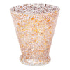 Vintage Gold & White Splatter Cocktail Pitcher Set Glass | The Hour Shop