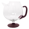 Vintage Amethyst Footed Cocktail Pitcher Set Pitcher | The Hour Shop