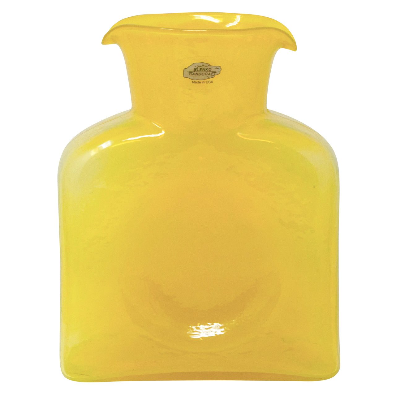 Blenko Yellow Water Pitcher | The Hour Shop