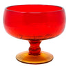 Vintage Blenko Amberina Crackle Glass Bowl | The Hour