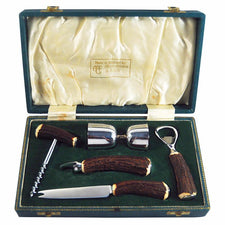 Abercrombie & Fitch 5 Pc. Stag Handle Bar Tool Set | The Hour