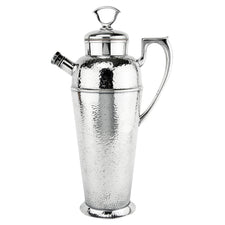 Vintage Apollo Hammered Silver Plate Cocktail Shaker | The Hour Shop