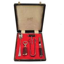 The Hour Shop, George Butler Stag Handle Bar Tools