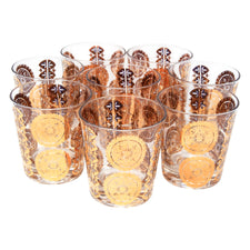 Vintage Gold Lace Rocks Glasses | The Hour Shop