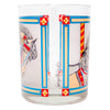Vintage Georges Briard Carousel Horse Cocktail Set Signature | The Hour Shop