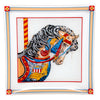 Vintage Georges Briard Carousel Horse Cocktail Set Tray | The Hour Shop