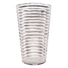 Vintage Sterling Silver Stripes Cocktail Shaker Set Tumbler | The Hour Shop
