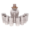Vintage Sterling Silver Stripes Cocktail Shaker Set | The Hour Shop