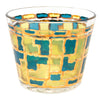 Vintage Multi Color Stained Glass Ice Bucket Cocktail Set Ice Bucket | The Hour Shop
