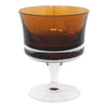 Denby Brown Cased Coupe Glasses