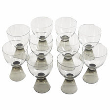 Rosenthal Fortuna Cordial Glasses, The Hour Shop Vintage Cocktail Glasses