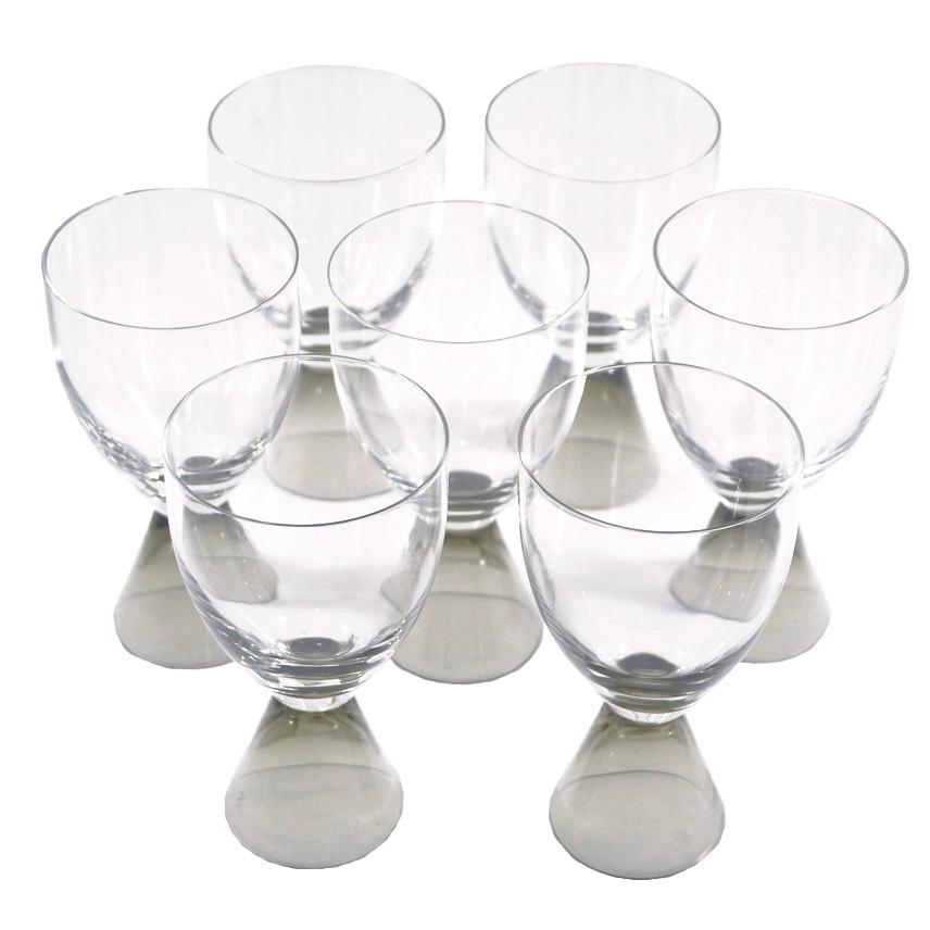 The Hour, Vintage Rosenthal Fortuna Smoke Cocktail Glasses