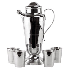 Farberware Chrome Cocktail Shaker Set