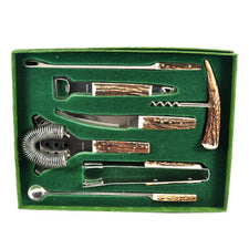 The Hour Shop, Rostfrei Stag Bar Tool Set