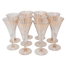 Vintage Dorothy Thorpe Gold Fleck Cocktail Glasses | The Hour Shop