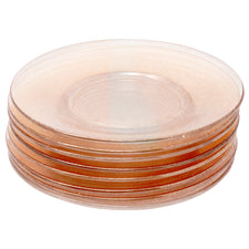 Vintage Dorothy Thorpe Gold Fleck Glass Plates | The Hour