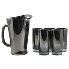 Vintage Mercury Coated Cocktail Pitcher Set, The Hour Shop
