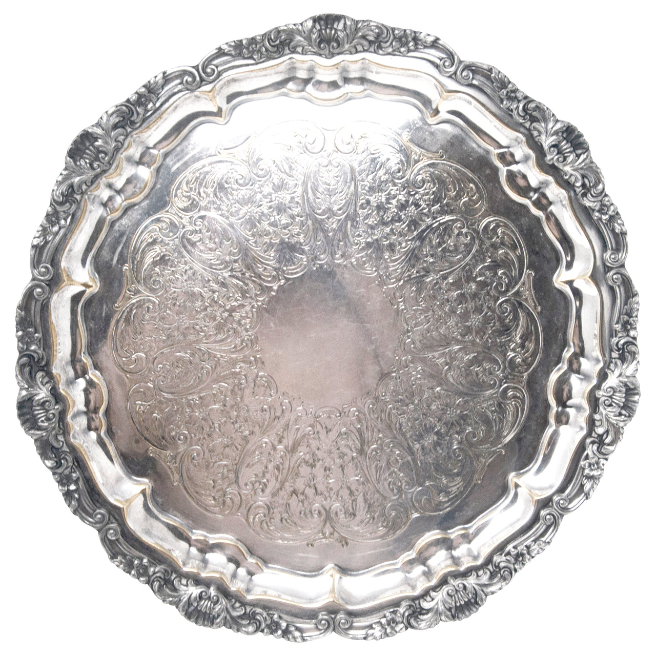 Vintage Poole Silver Co. EPCA Serving Tray | The Hour Shop