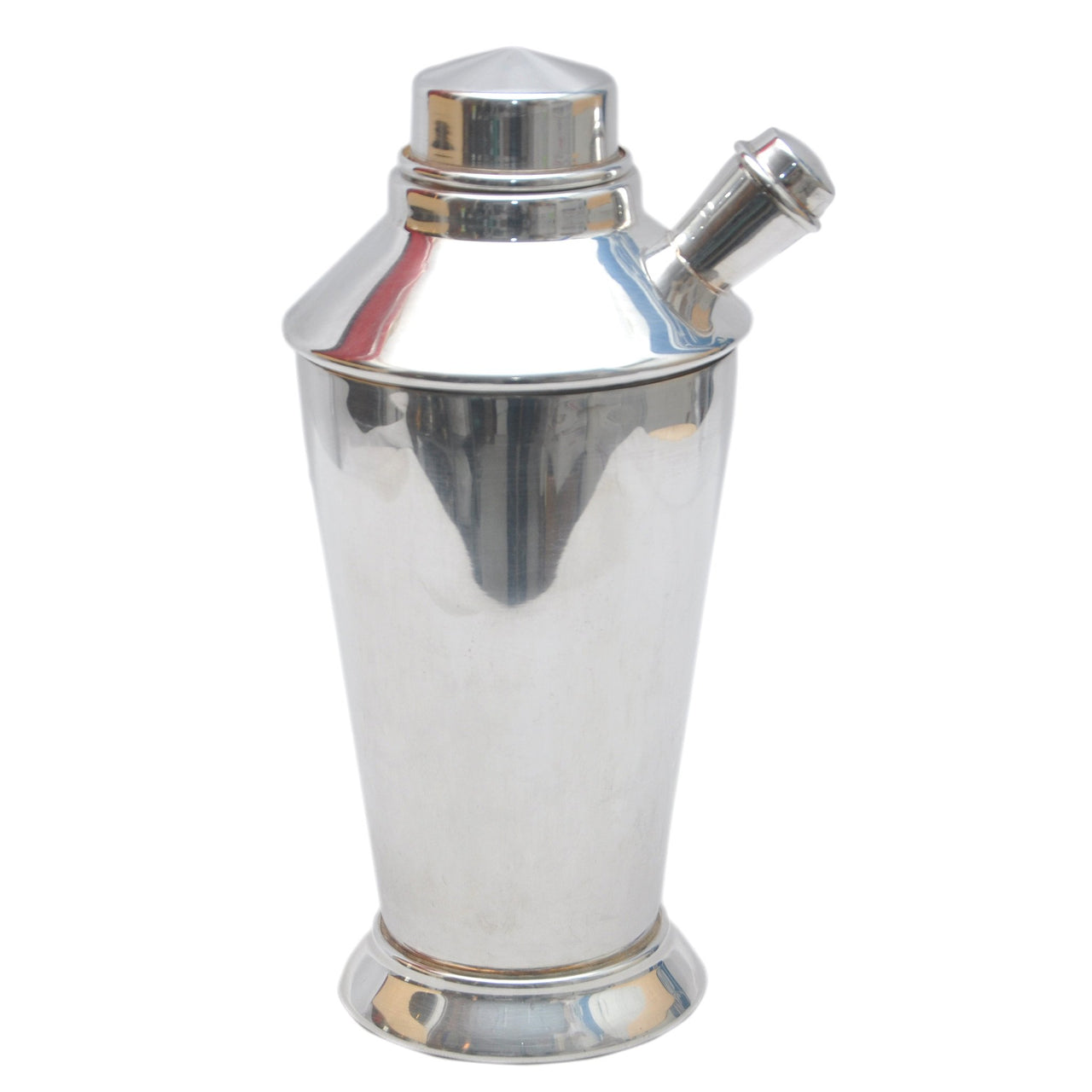 Vintage Art Deco Silver Plate Cocktail Shaker, The Hour Shop