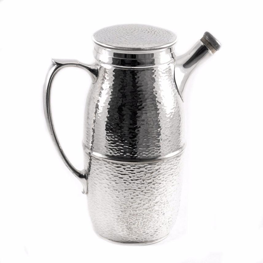 The Hour Shop, Hammered Silverplate Shaker