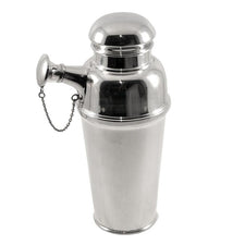 The Hour Shop, Vintage English Chain Spout Cocktail Shaker