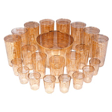 Vintage Gold Rings Cocktail Set | The Hour Shop