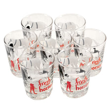 Fresh Horses Shot Glasses