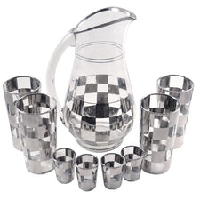 The Hour Shop, Mercury Checkerboard Cocktail Set