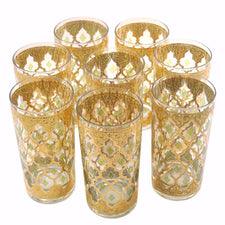 The Hour Shop, Vintage Culver Valencia Collins Glasses