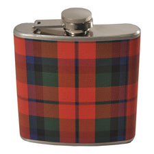 Scottish Tartan Plaid Stainless Steel Flask | The Hour Barware