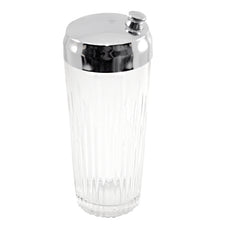 Cut Glass Cocktail Shaker
