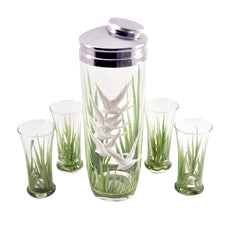 Vintage Flying Geese Cocktail Shaker Set | The Hour Shop