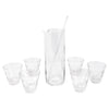 Vintage Slanted Dashes Cocktail Pitcher Set | The Hour Shop