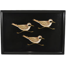 Vintage Couroc Sandpipers Tray | The Hour Shop