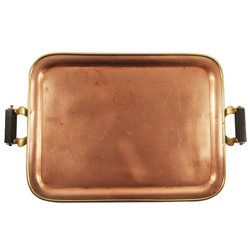 Antique Manning Bowman Copper Tray, The Hour Shop